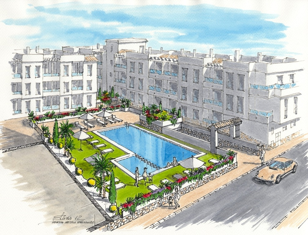 Apartments in Torrevieja town