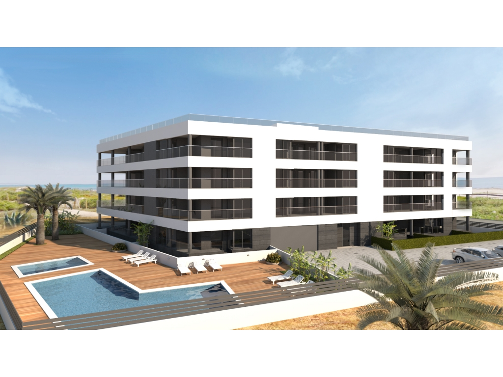 Frontline beach new apartments in Torrevieja