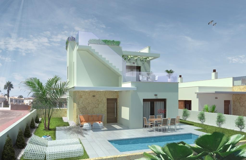 Last villa in Pueblo Bravo, near Quesada Key ready