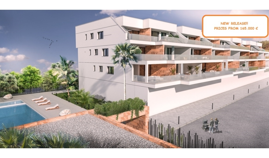 New apartments with large terraces in Villamartin