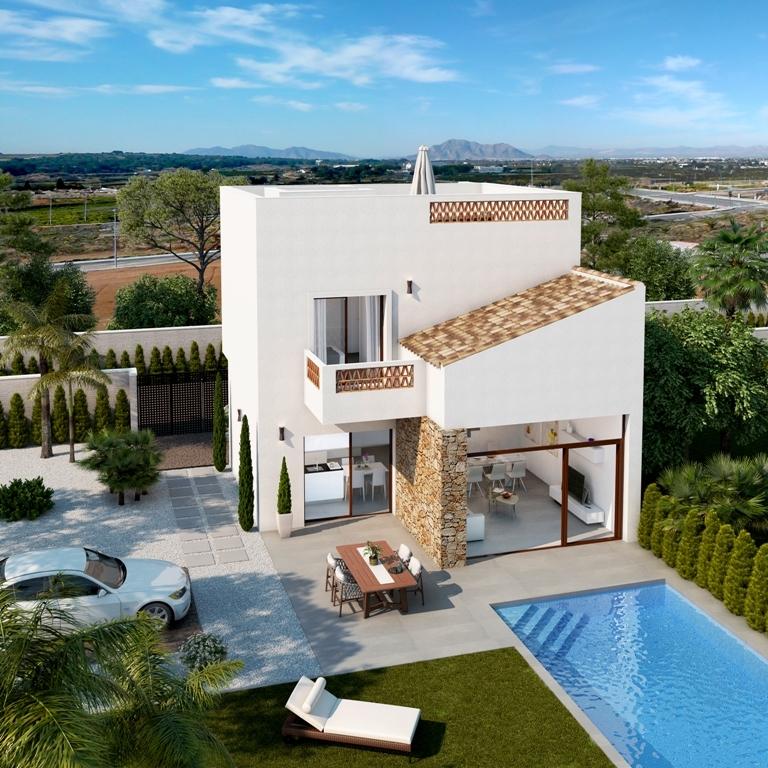 Superb modern villas in Benijofar