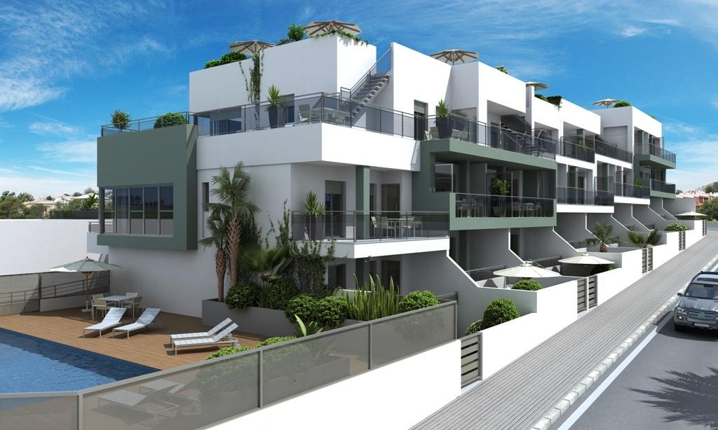 New apartments in La Marina