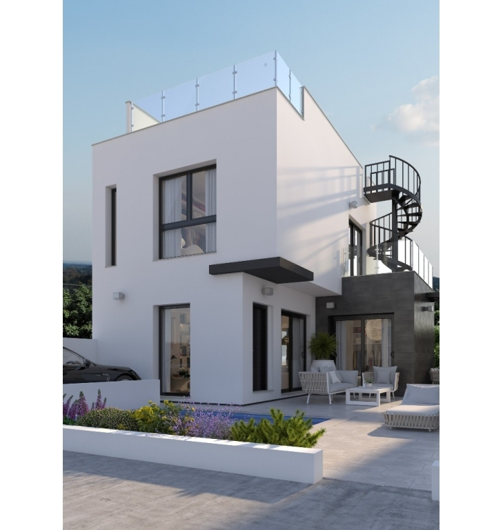 Detached villas in Villamartin